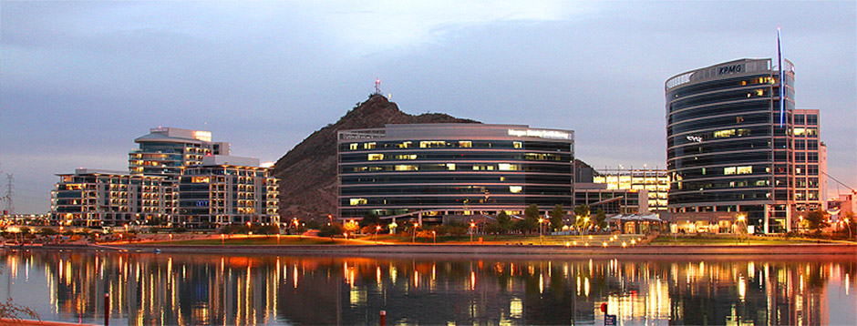 Tempe Lake Buildings
